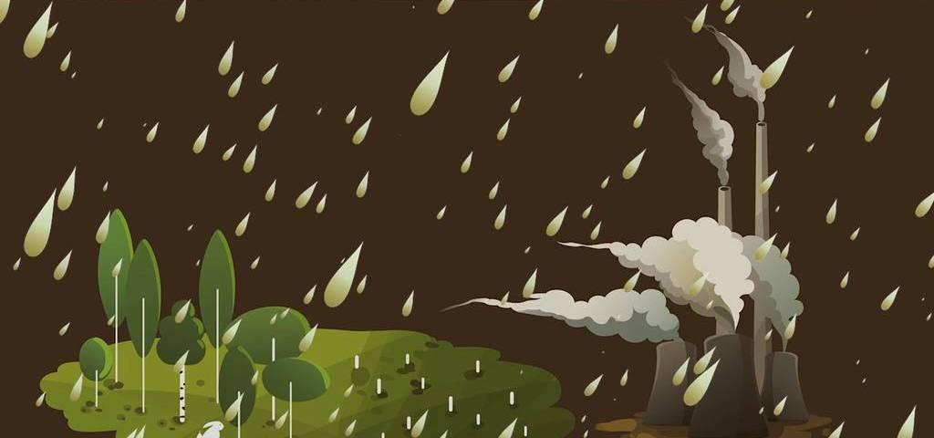 Cómo afecta la contaminación calidad del aire y la lluvia