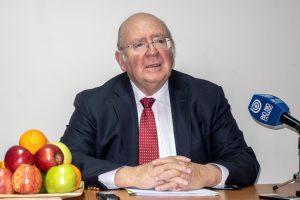 Luis Schmidt, embajador de Chile en China y ex presidente de Fedefruta.