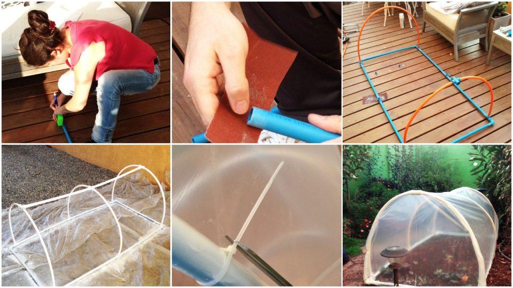 Nuevo*: Cómo hacer un barato y sencillo invernadero casero de PVC paso a paso