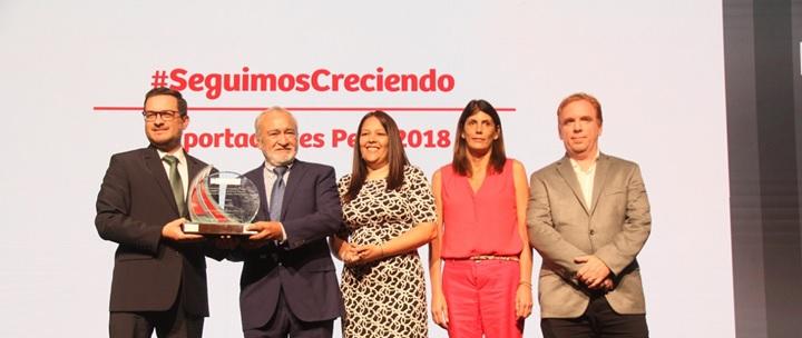 Camposol recibió premio en Perú