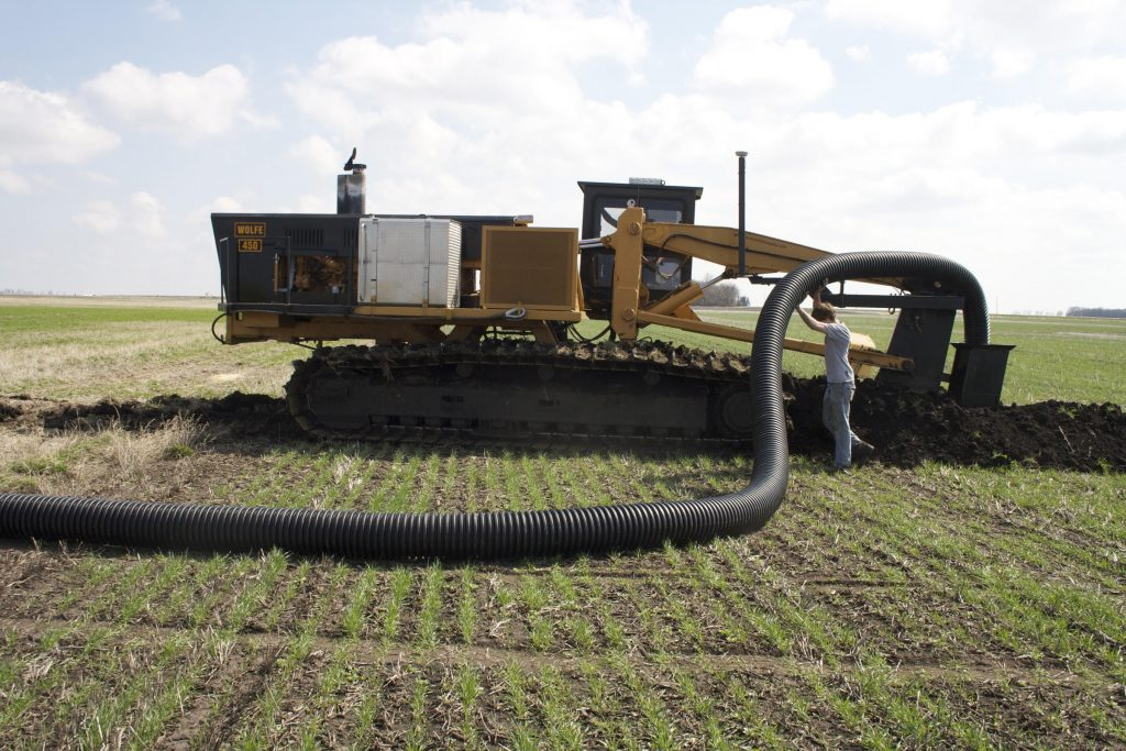 El drenaje de los suelos: tipos de drenes y cómo hacerlos