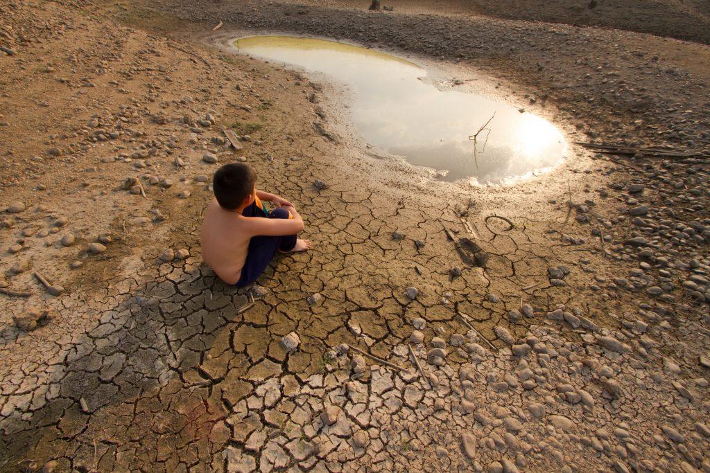 el niño y la sequía