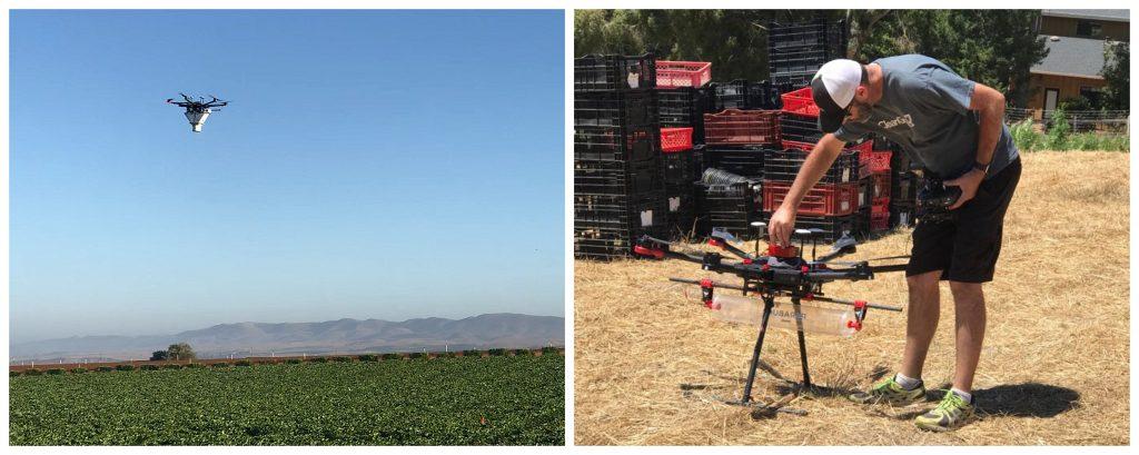 control biológico con drones