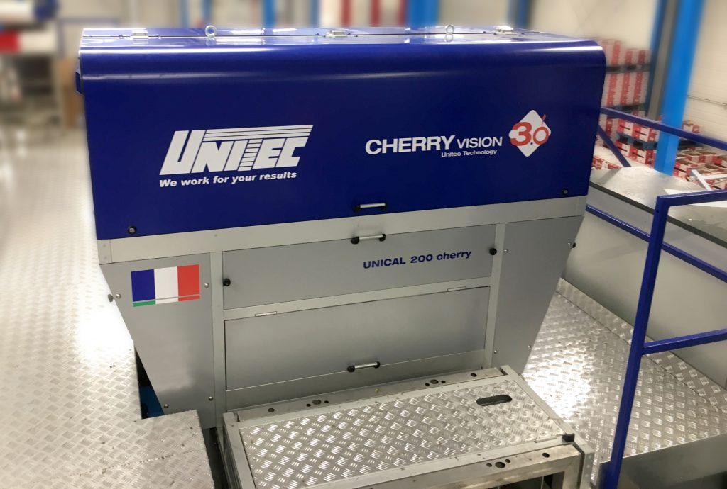 Unitec: Centrales hortofrutícolas francesas dan las gracias a Cherry Vision 3.0