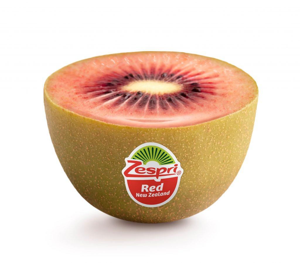 Zespri comenzará a comercializar kiwi rojo