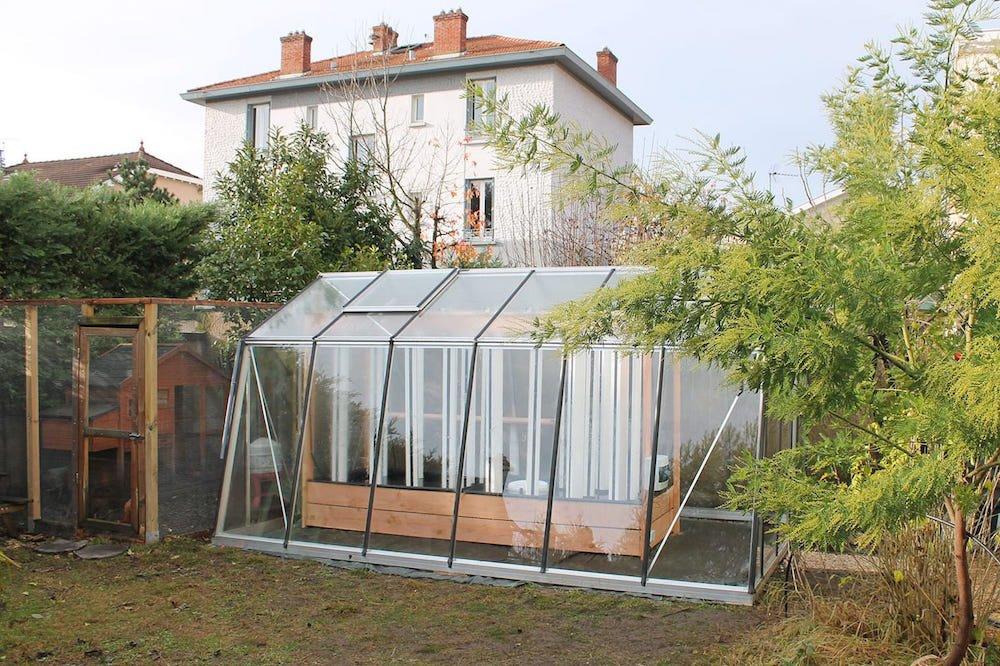 mini-invernadero solar acuapónico