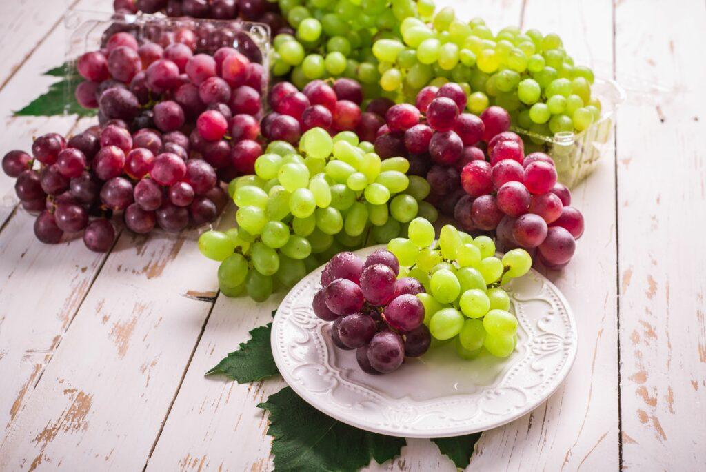 A causa de las lluvias de Chile, la demanda de uvas de mesa