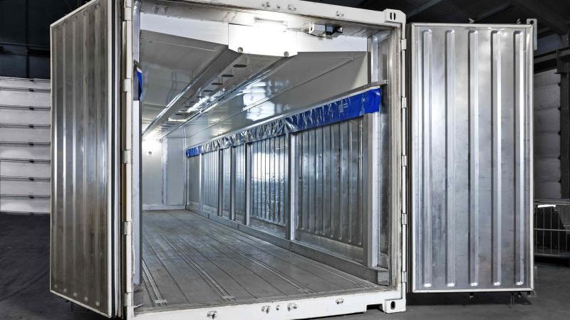 Revelan pionera sala de maduración en contenedores