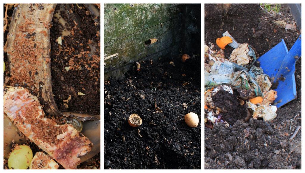 Materiales y métodos para construir una pila de compost (abono orgánico)