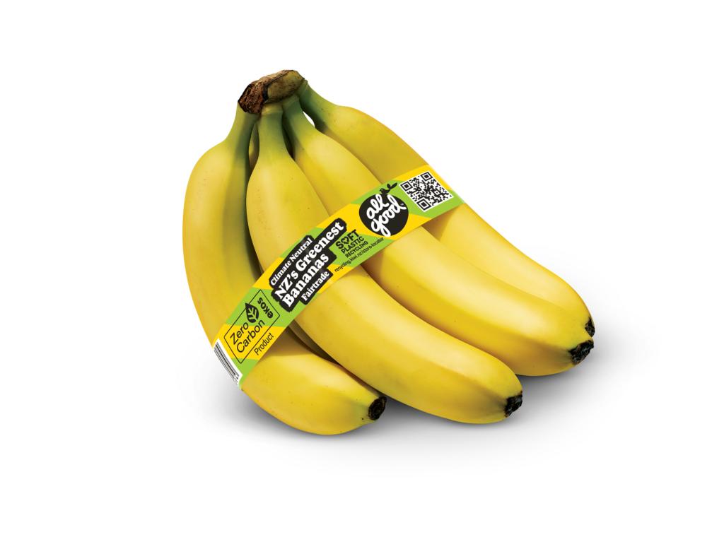 T&G Fresh se une a All Good para entregar los primeros bananos sustentables