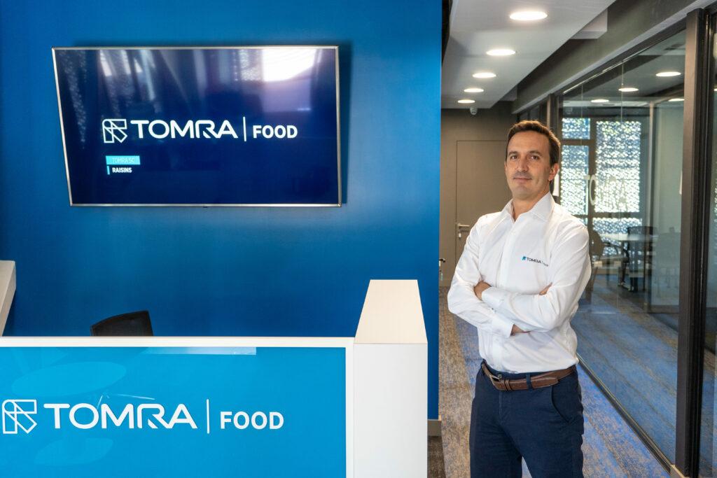 TOMRA Food: David del Castillo Impulsará la innovación en la industria 4.0