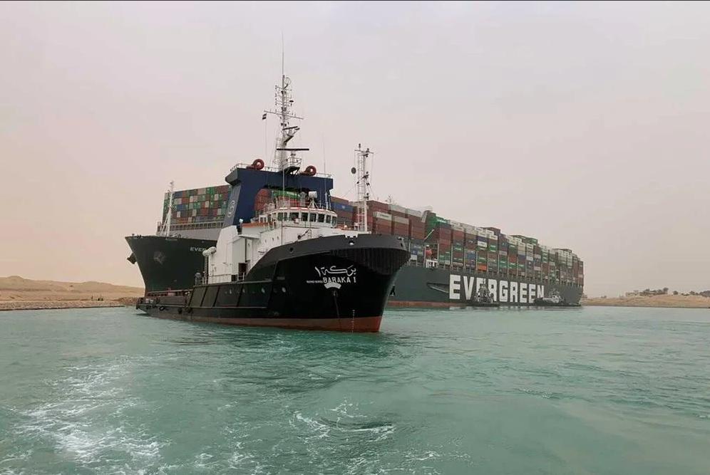 """Jefe del Canal de Suez: """"Ever Given encalló porque entró descentrado y a alta velocidad"""""""