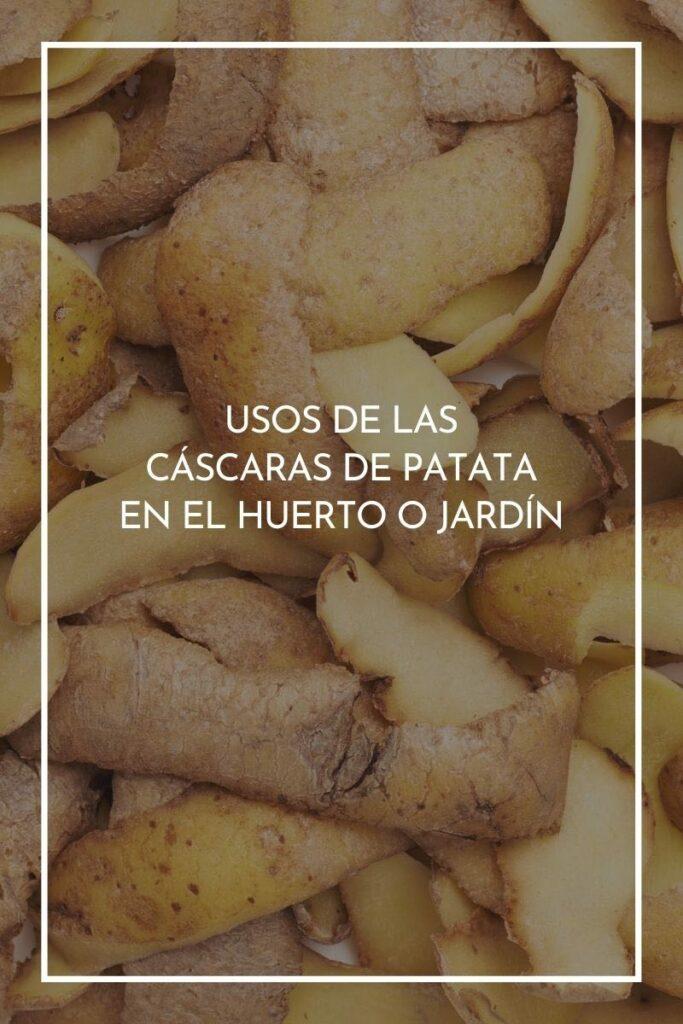 cáscaras de patata