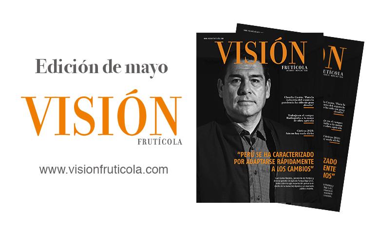 Ya está disponible la nueva edición de Visión Frutícola