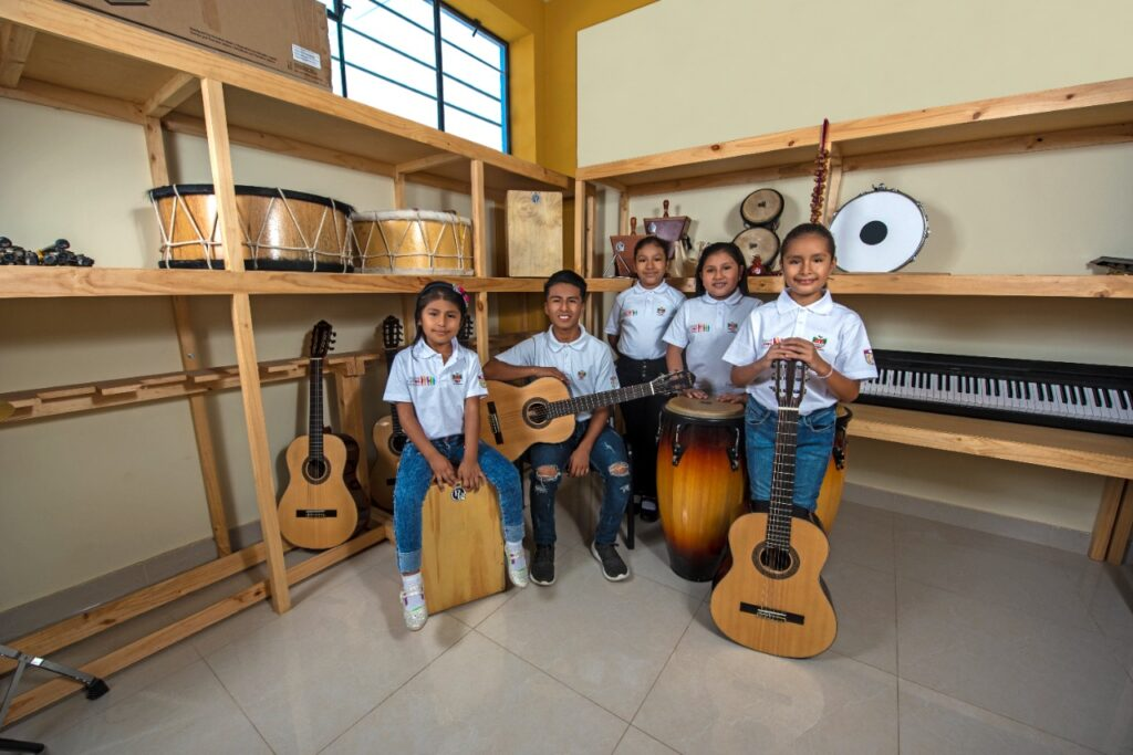 Hortifrut Perú promueve la educación y la cultura en beneficio de cerca de 5.000 niños y jóvenes de comunidades de La Libertad
