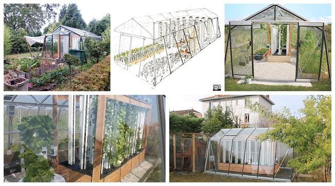 500 kilos de alimentos al año con este mini invernadero solar