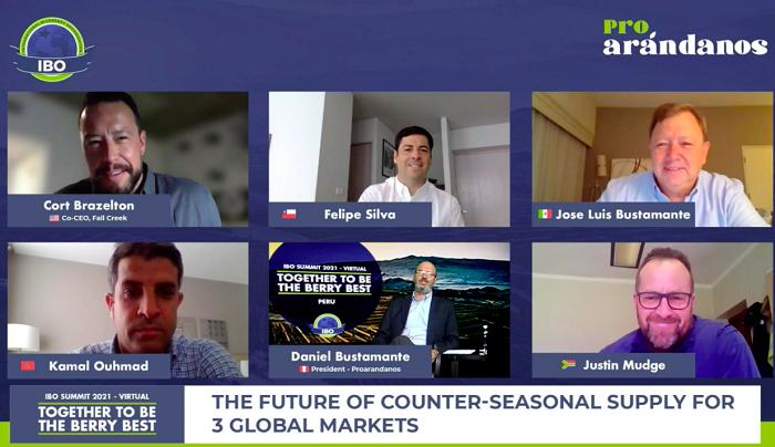 Representantes de la industria del arándano analizan hacia dónde se dirige el mercado en IBO Summit