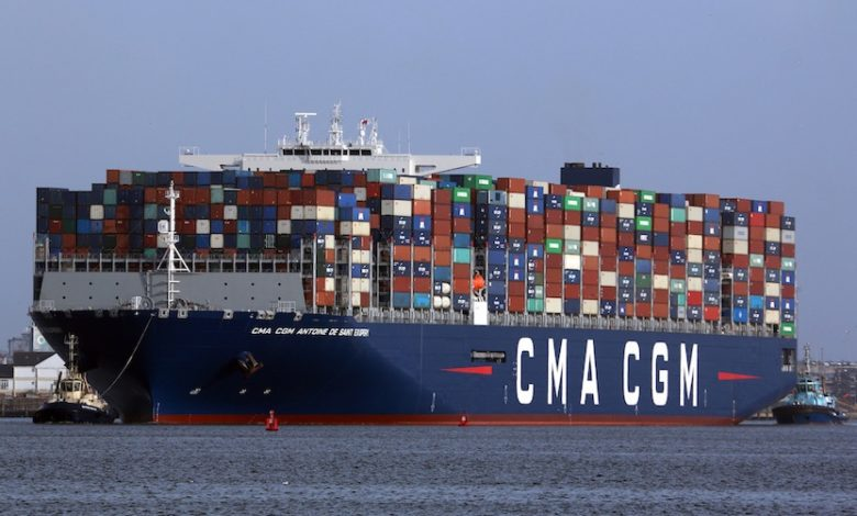 CMA CGM limita las tarifas de flete en medio de agitación del mercado