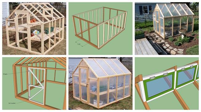Paso a paso para construir un invernadero de madera, fácil y barato