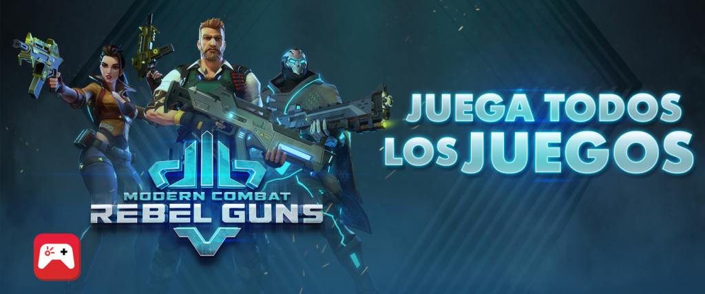 Rebel guns