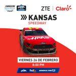 TRANSMISIÓN NASCAR MÉXICO | iSERIES | KANSAS