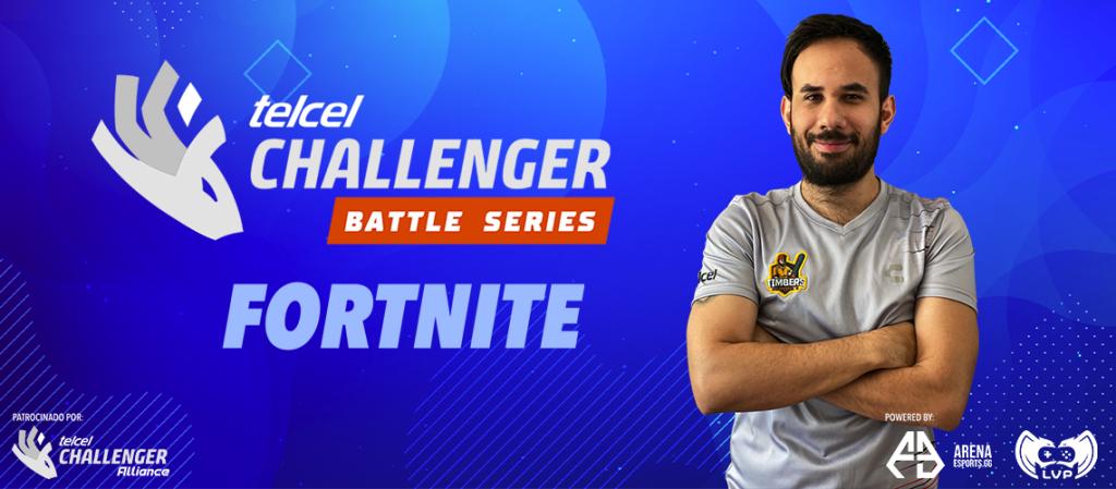 Segundo torneo clasificatorio de Fortnite en Telcel Challenger Battle Series