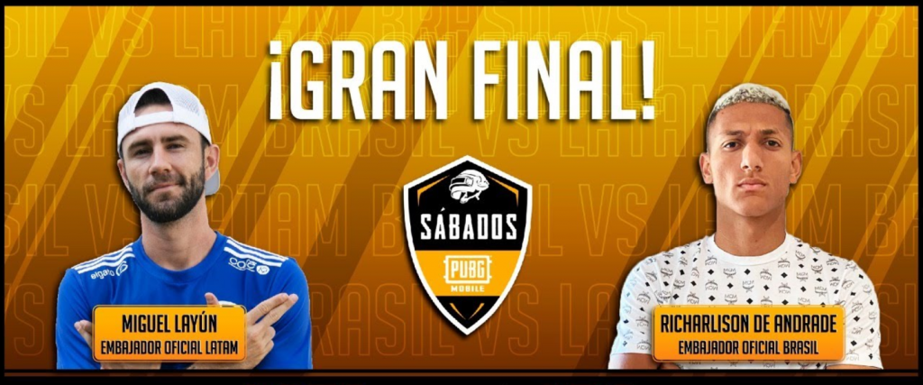 Sábados de PUBG, gran final LATAM vs Brasil