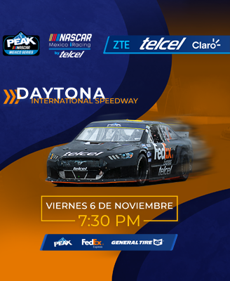 NASCAR México iRacing Presenta: Daytona International Speedway