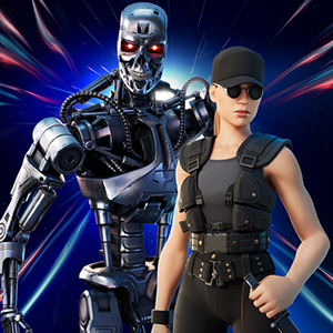 Sarah Connor y el T800 llegan a Fortnite