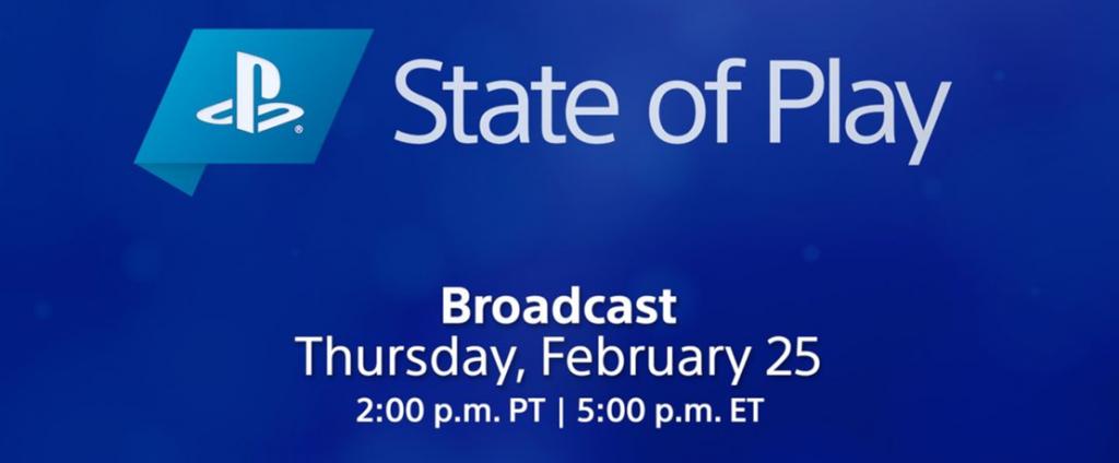 State of Play regresa el 25 de febrero