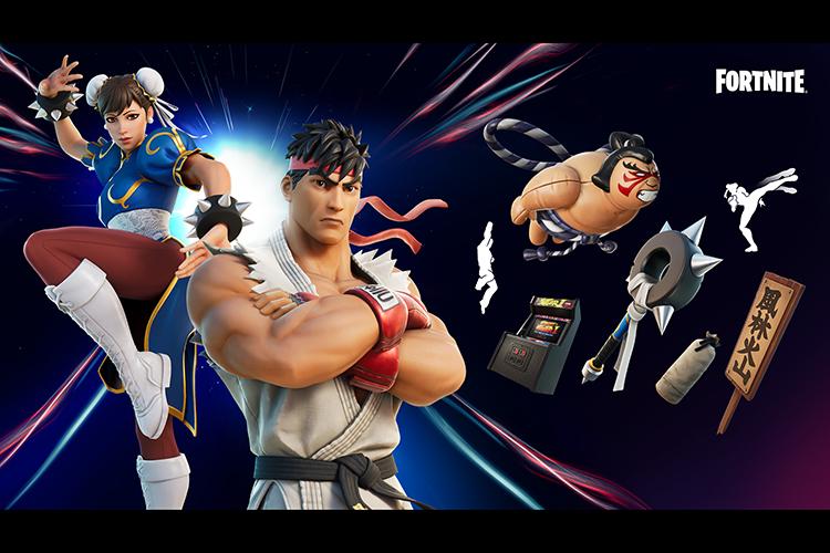 Street Fighter en Fortnite