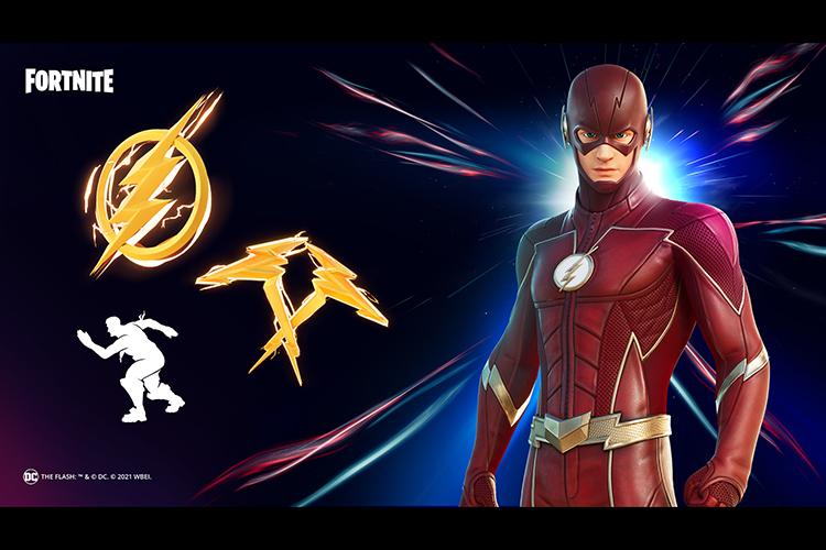 Accesorios de Flash en Fortnite