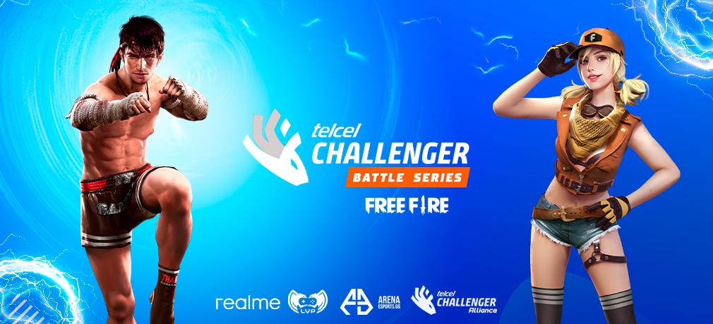 Telcel Challenger Battle Series presenta: Free Fire