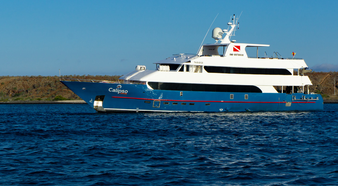 Calipso, the new ship for Galapagos Travel