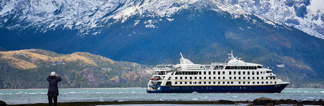 The best expeditions cruises in South America