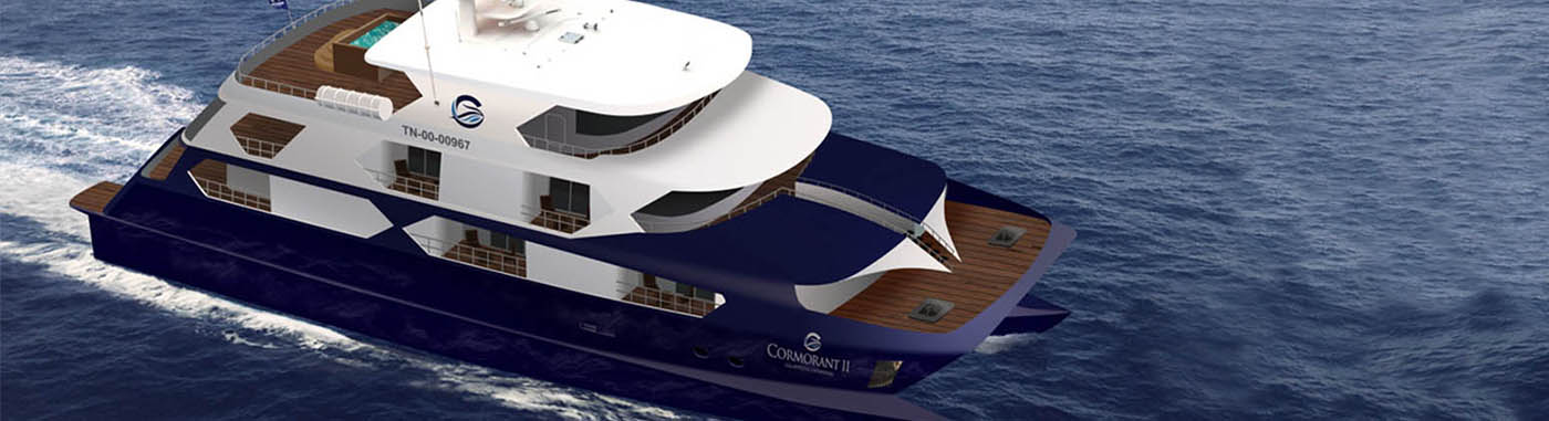 Cormorant II Catamaran| Galapagos cruises