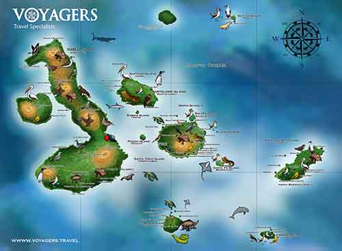 Galapagos Islands Maps | Galapagos islands | South America Travel