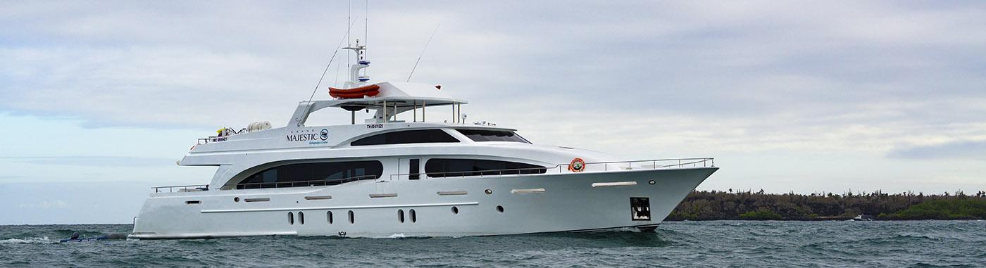 Grand Majestic Yacht| Galapagos cruises