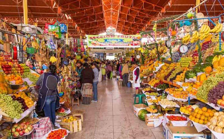 Visit San Camilo Market to Shop and Eat | Peru