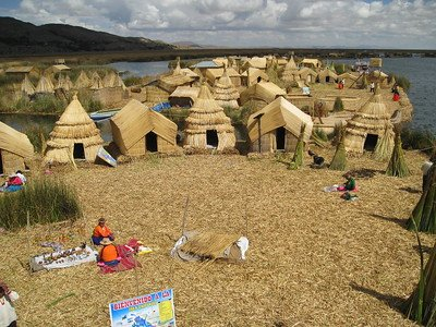 Visit the Uros Floating Islands