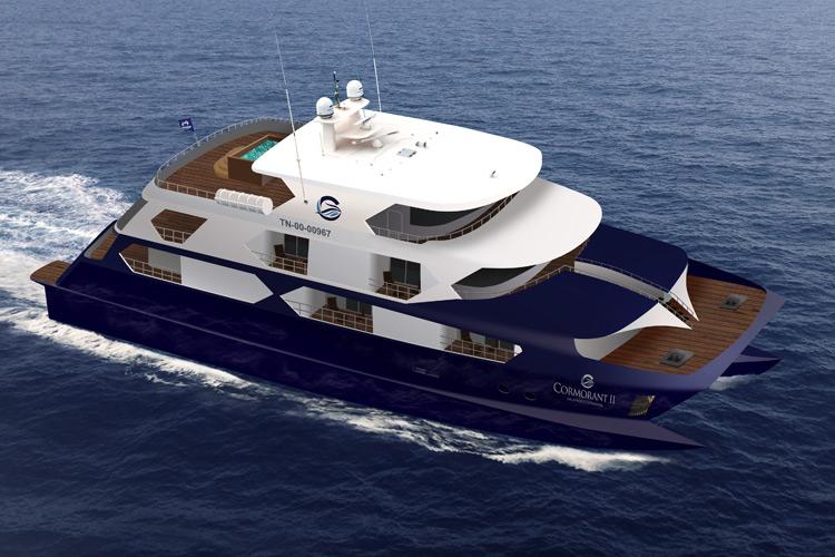 Cormorant II Catamaran |  Galapagos Cruises