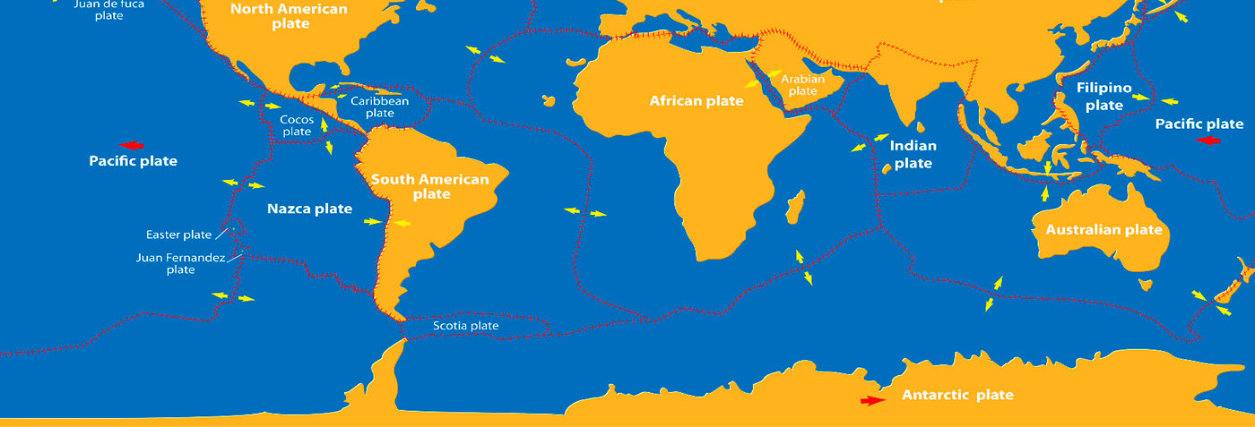 Understanding plate tectonics and the geology of the islands