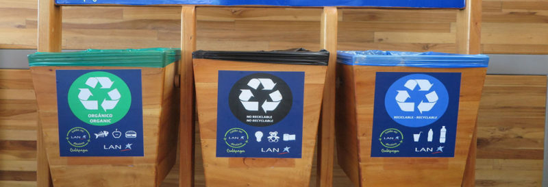 Recycling plant on Santa Cruz Island | Galapagos Islands | South America travel