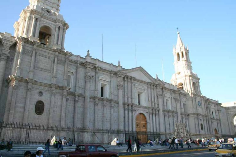 Document the White Sillar Architecture | Peru