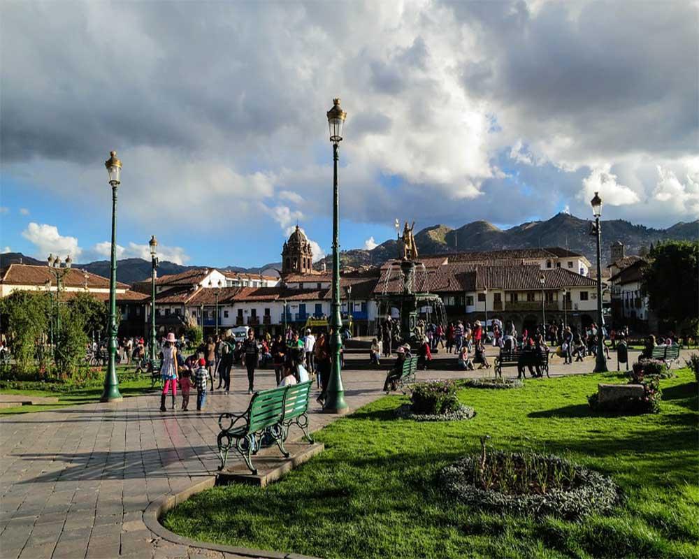 Visit the Plaza de Armas   Peru