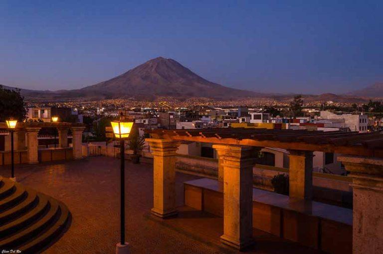 Eat at Mirador Misti (Amazing View) | Peru