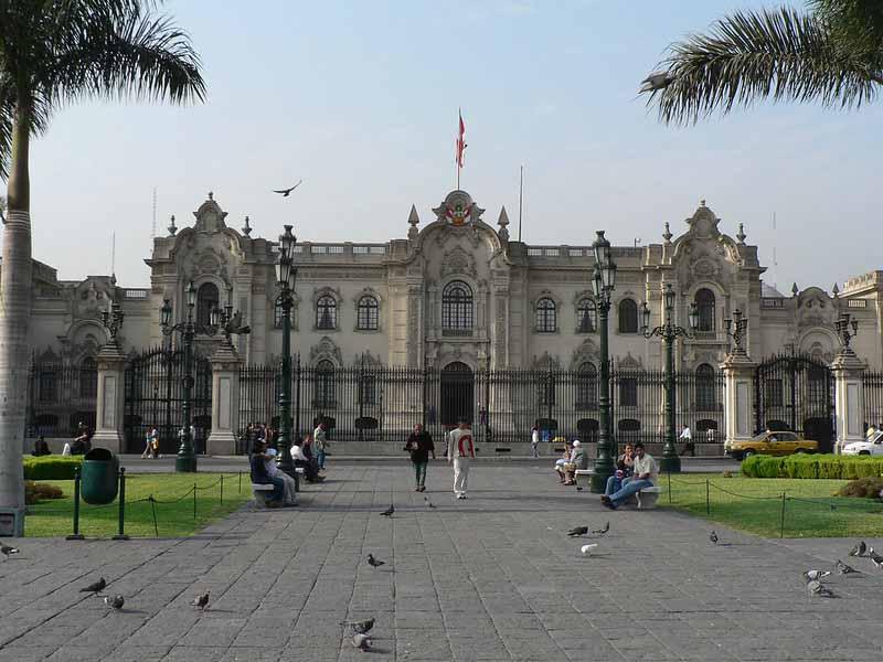 Tour the Palacio de Gobierno   Peru