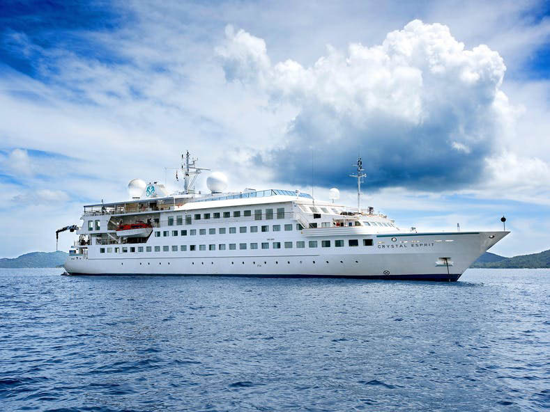 Lindblad, the new owner of Crystal Esprit, will replace the Islander catamaran in Galapagos