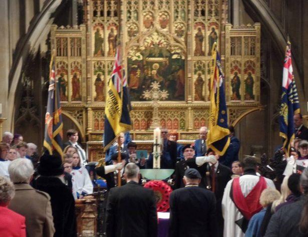 British Legion Remembrance Service