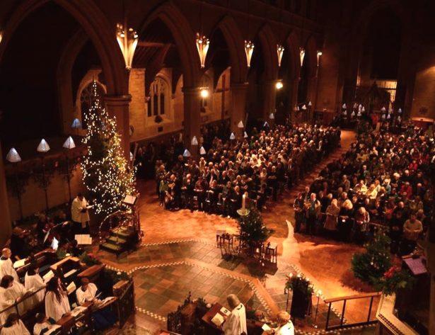 Midnight Mass at St Mary's